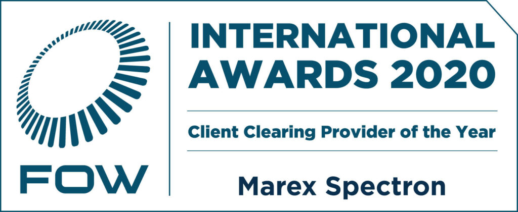 Marex – FOW INternational Awards 2020 – Winner Client Clearing Service Provider of the Year