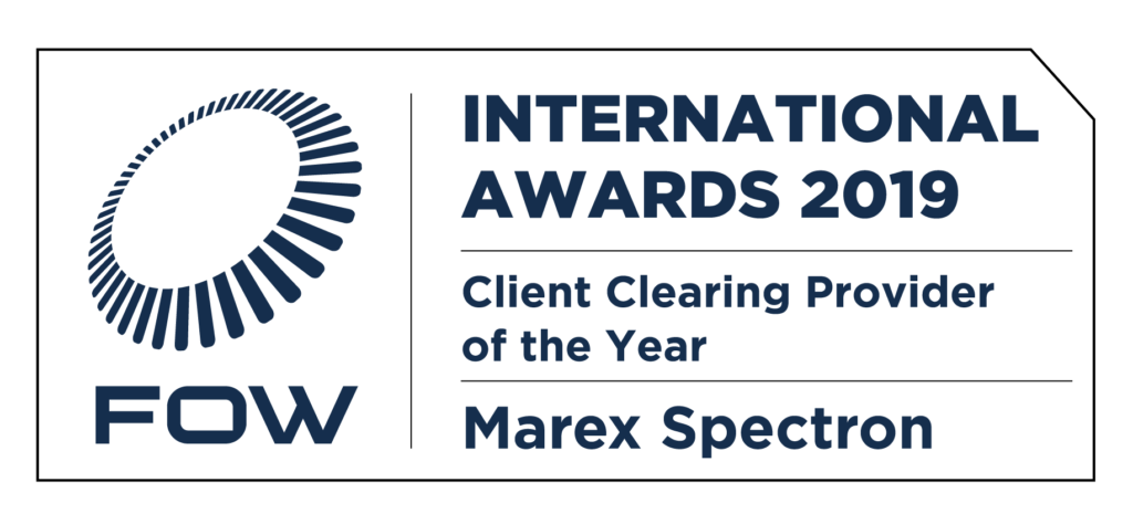 Marex – FOW International Awards 2019 – Winner Client Clearing Service Provider of the Year
