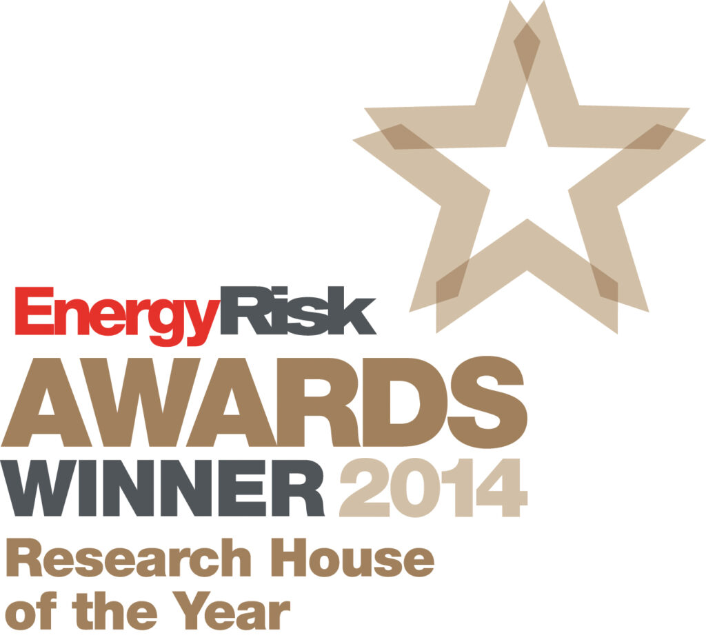 Marex – Energy Risk Awards badge – winner 2014 Commodities Research House of the Year