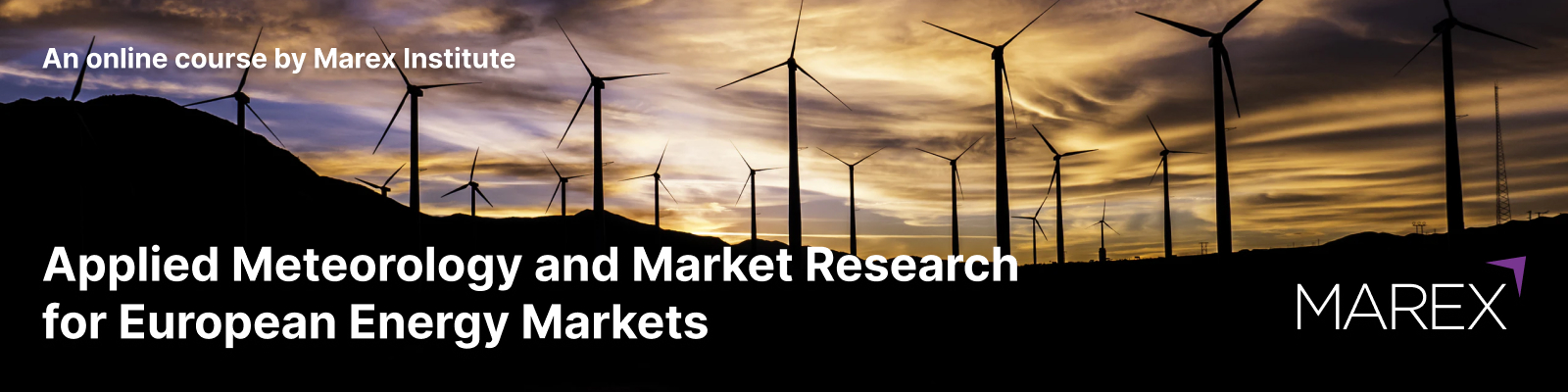 Applied Meteorology and Market Research for European Energy Markets, 27-28 May 2021